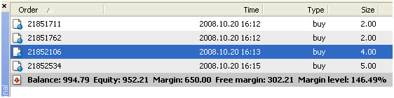 Forex margin level percentage
